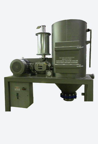 Industrial Central Vacuum Systems Dust Collectors